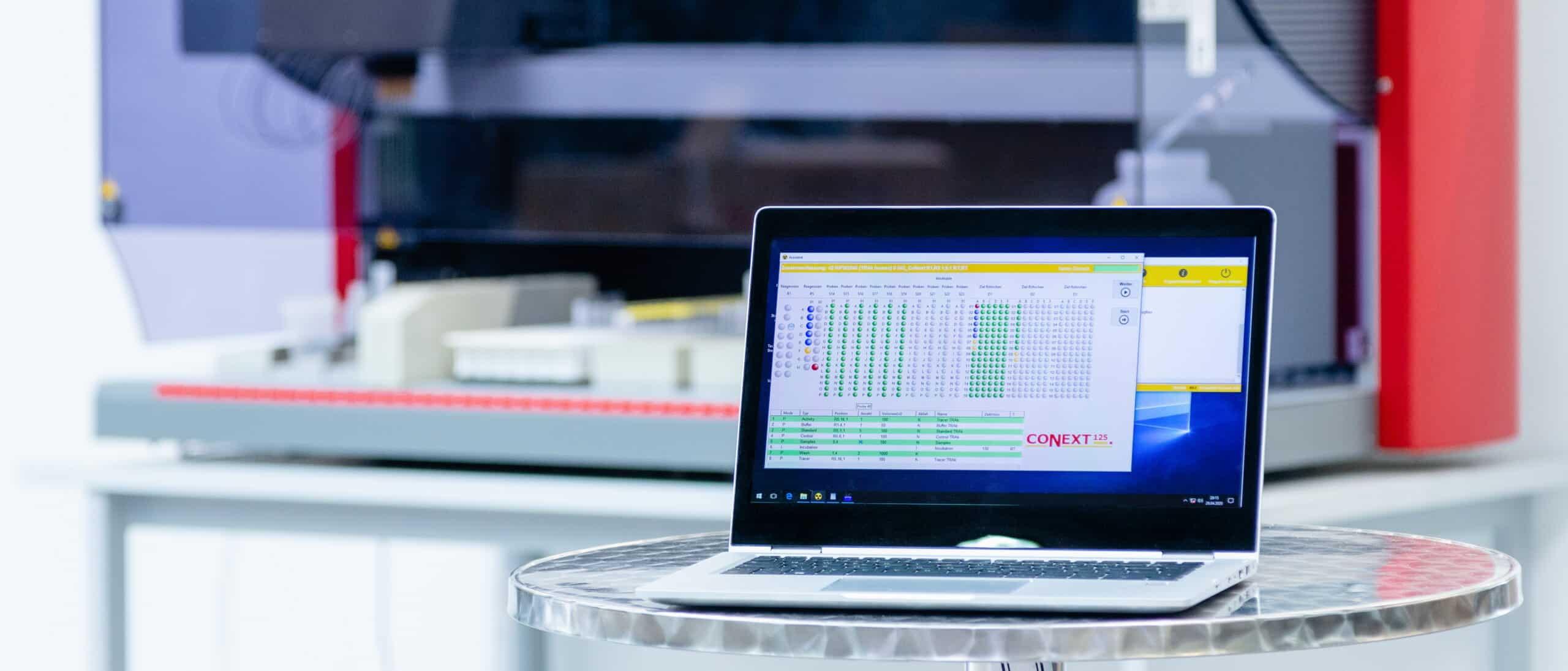 Lab Automation Kundenspezifische Applikationsentwicklung